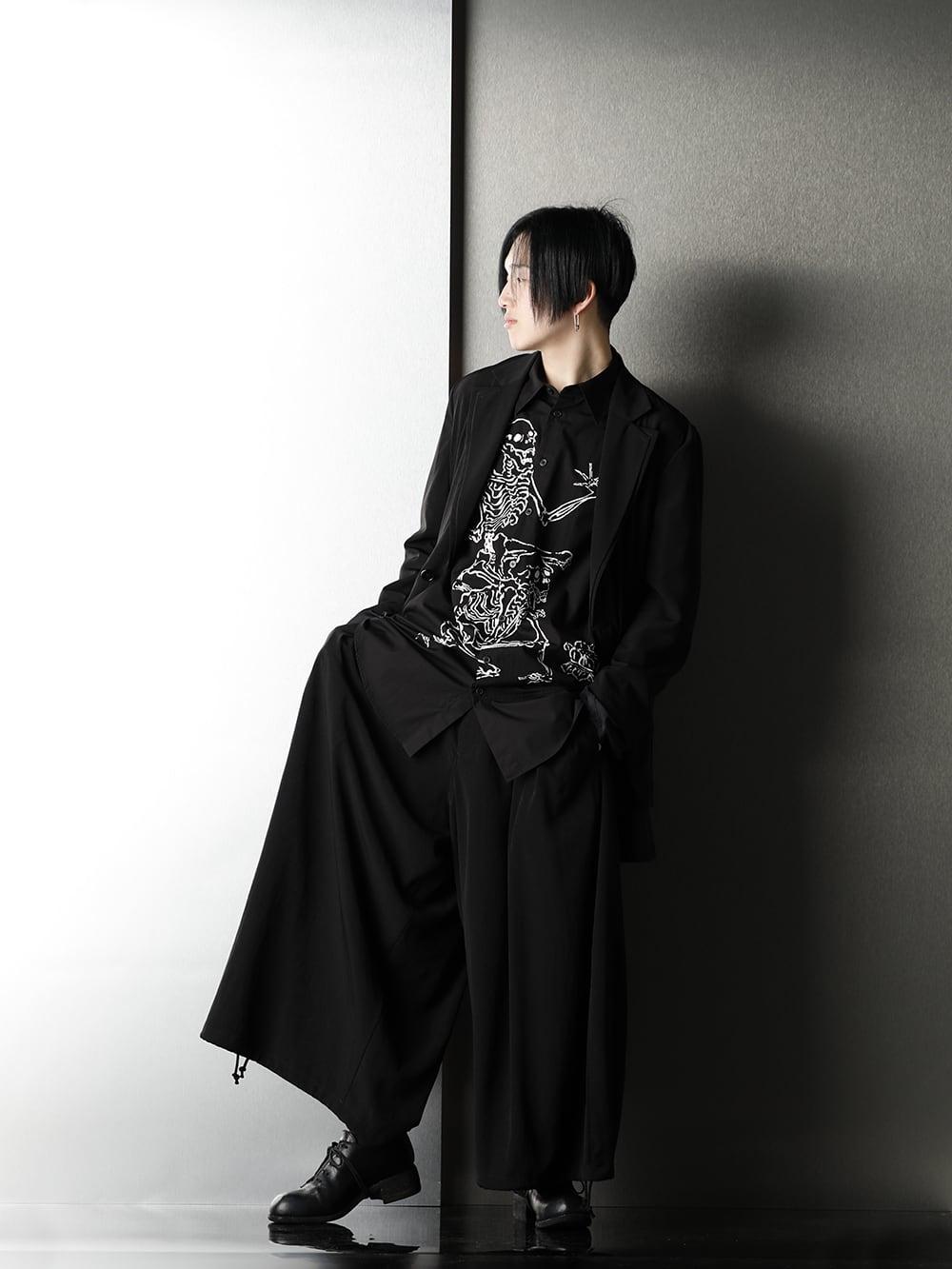 Ground Y x Kyosai Kawanabe Collaboration Shirt Styling - 1-001