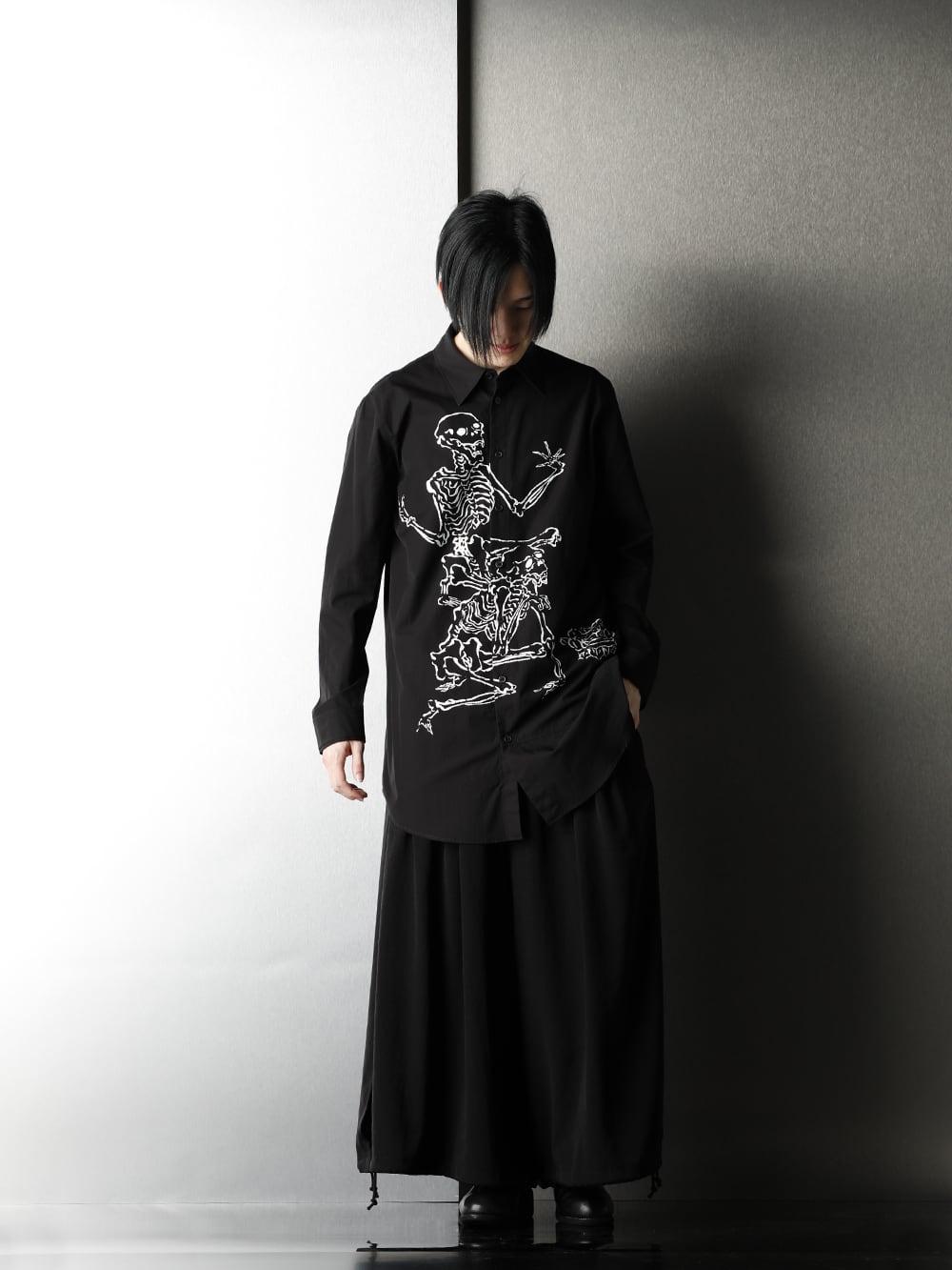 Ground Y x Kyosai Kawanabe Collaboration Shirt Styling - 3-001