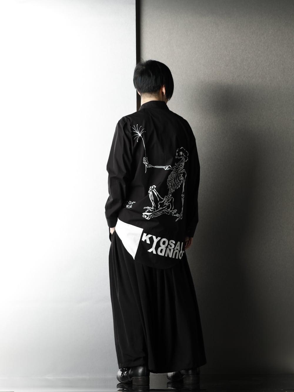 Ground Y x Kyosai Kawanabe Collaboration Shirt Styling - 3-003