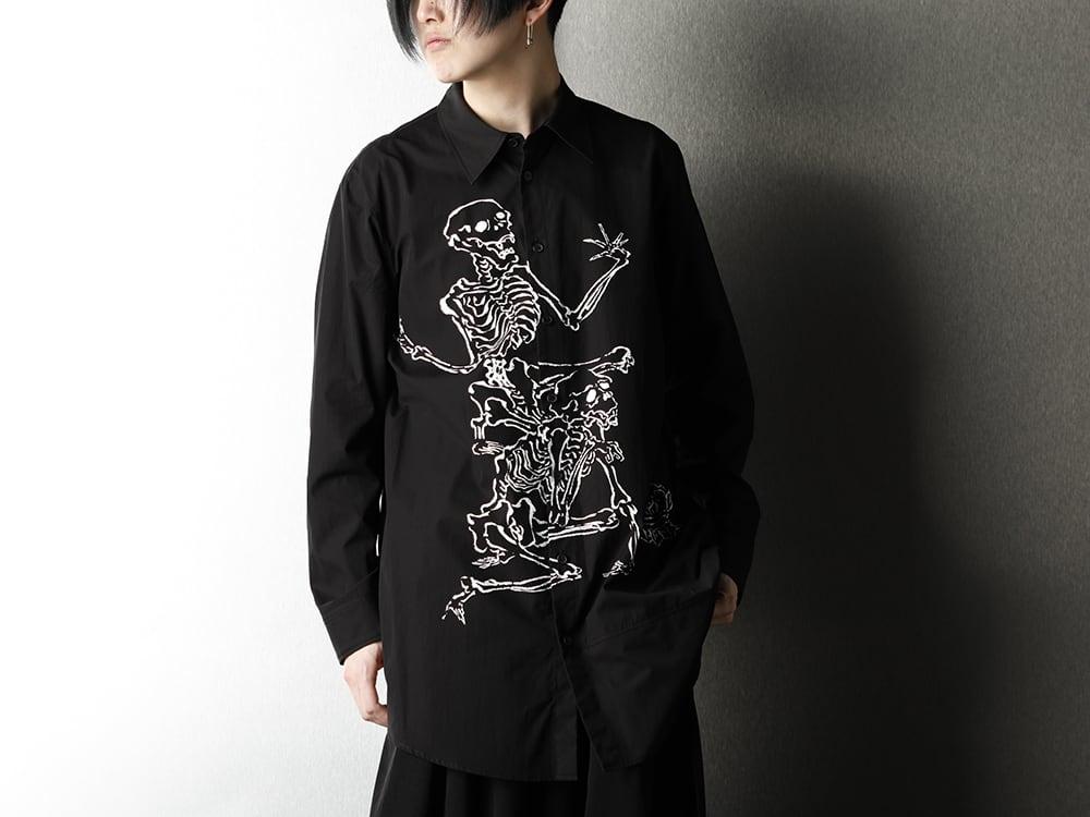 Ground Y x Kyosai Kawanabe Collaboration Shirt Styling - 3-004