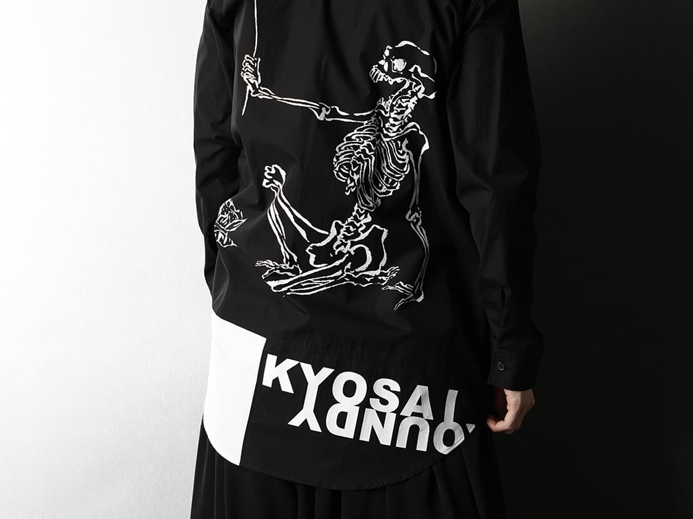 Ground Y x Kyosai Kawanabe Collaboration Shirt Styling - 3-007