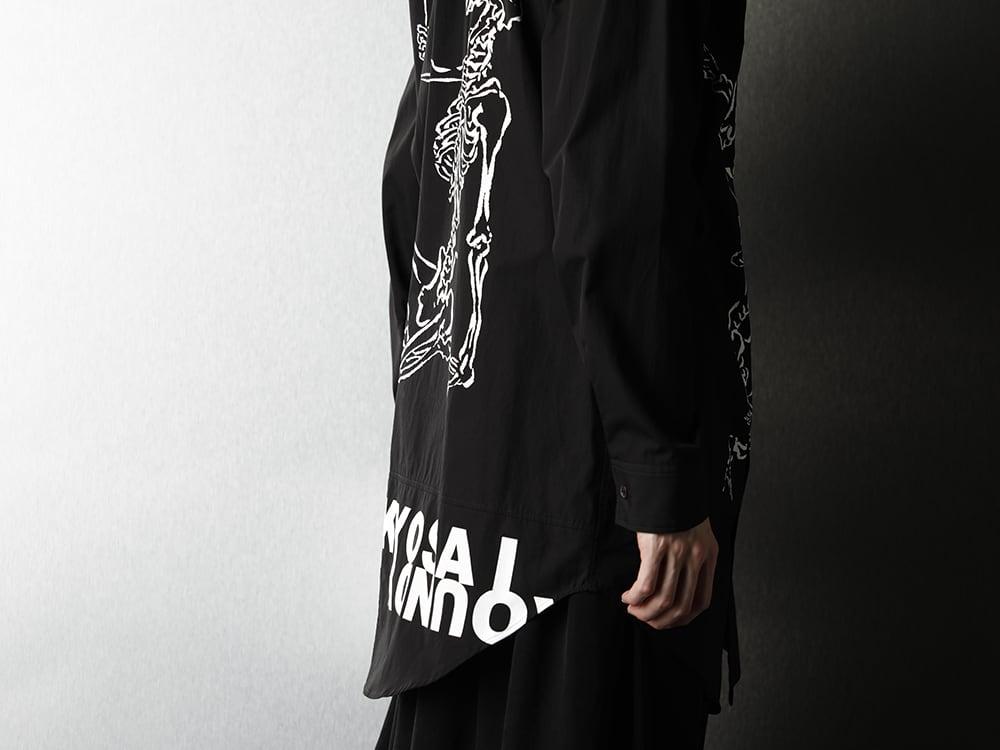 Ground Y x Kyosai Kawanabe Collaboration Shirt Styling - 3-008