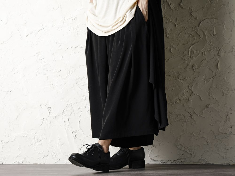 Rondo.ym 20SS Silk Georgette Phoenix and Fan Embroidery Kimono Sleeve Coat Style - 3-002
