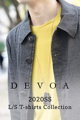 DEVOA 20SS L/S T-shirts Collection