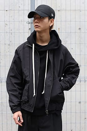 The Viridi-anne 20SS Deformation Blouson styling !!