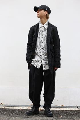 NUDE:MM 20SS mulch button detach jacket styling !!