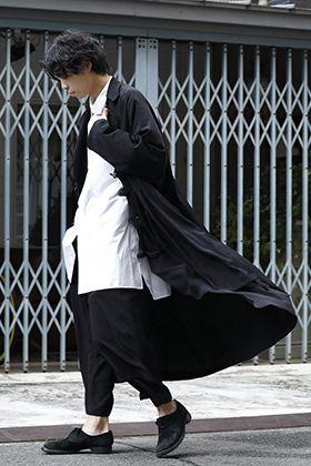 B Yohji Yamamoto 20ss Unisex Coat Style