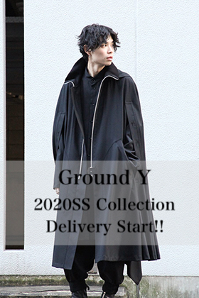 Ground Y 2020SS Collection Delivery Start!!