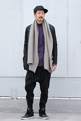 .LOGY kyoto Leather Carde【 Stole Mix 】Styling!!!