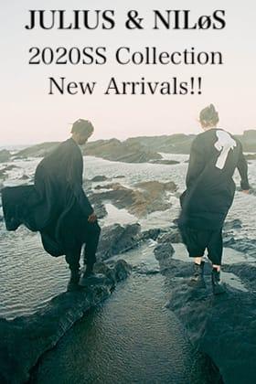 JULIUS & NILøS 2020SS Collection New Arrivals!!