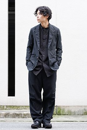 DEVOA 20SS Silk Cotton Suit Style
