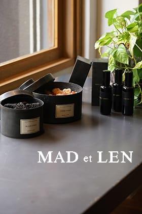 MAD et LEN  as an interior decoration