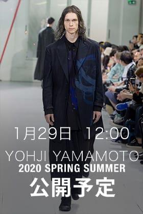 Yohji Yamamoto 1月25日(土)20時と1月29日正午12時から販売開始