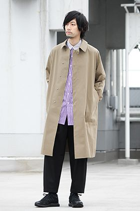 20SS ATTACHMENT×KAZUYUKI KUMAGAI Spring Coat Styling!!