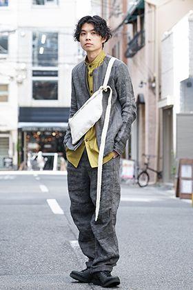 DEVOA 20SS Canapa Stripe Fabric Style