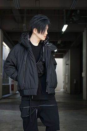 NILøS 20ss Flexibility ZIP Set up Black Styling !!