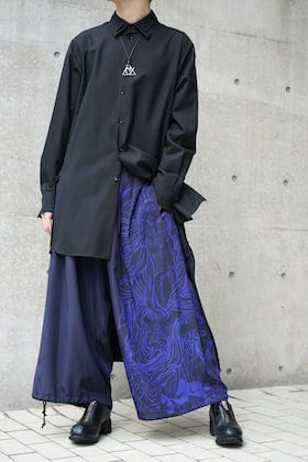 Ground Y x Kyousai Kawanabe graphic Balloon Pants Styling !!