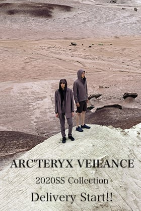 ARC'TERYX VEILANCE 2020SS Collection Delivery Start!!