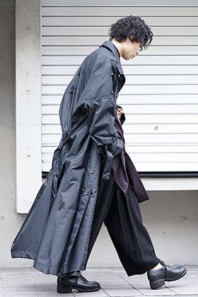 Yohji Yamamoto Big Rain Coat Style