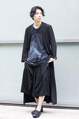 Yohji Yamamoto 20SS Shorts x Long Coat Style