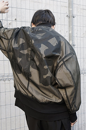 NILøS New graphic See through jacket Styling !!