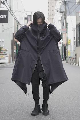 NILøS 20SS High neck long coat styling !!