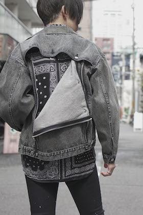 JLS × GalaabenD zip&paint denim Style !!