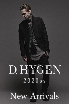 D.HYGEN 20SS Collection New Arrivals!