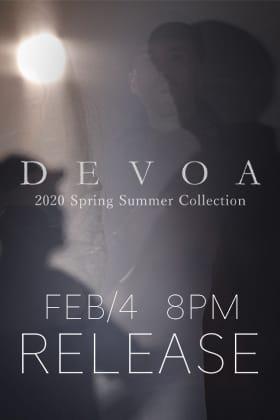 DEVOA 2020SS Release Date Notice