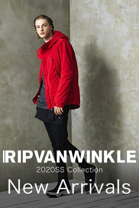 ただいまからRIPVANWINKLE 2020SSコレクション販売開始です!