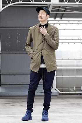 .LOGY kyoto 20SS 【 RIPVANWINKLE × VEILANCE 】TECK JACKET STYLING!!!