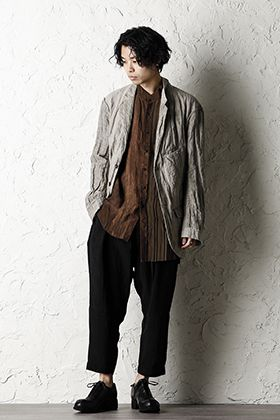 ZIGGY CHEN 20SS Earth Color Jacket Style