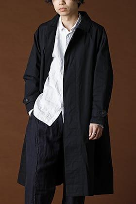 suzusan 2020SS Limited Spring Long Coat Black