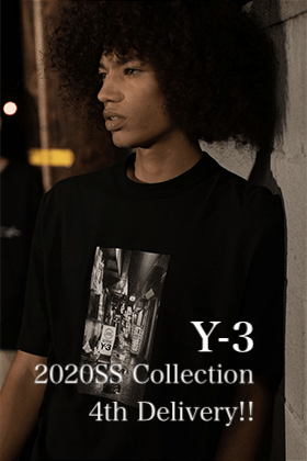 Y-3 20SS Collection 4th Delivery!!