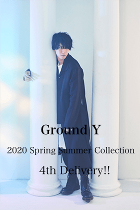 Ground Y 2020SS Collection 4th Delivery!!