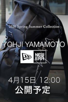 Yohji Yamamoto × New Eraの新作を4月15日(水) 正午12時より発売開始!