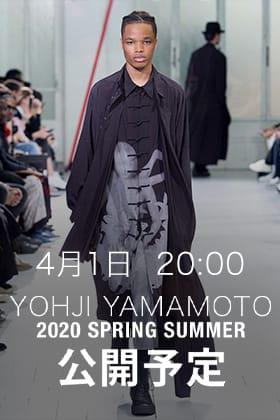 Yohji Yamamoto、B YYの新作を4月1日(水) 20時より発売開始!