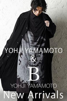 Yohji Yamamoto and B Yohji Yamamoto New Arrivals!