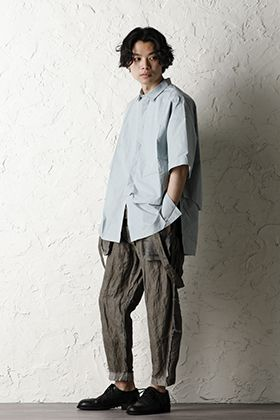 ZIGGY CHEN 20ss Spring Color Shirt Style