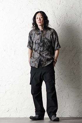 DEVOA 20SS  Short sleeve shirt line zodiac signs print Style