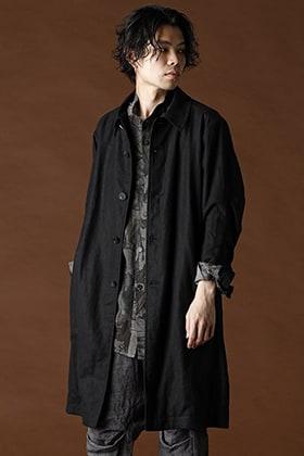 DEVOA Linen Coat x Linen Zodiac Signs Print Shirt