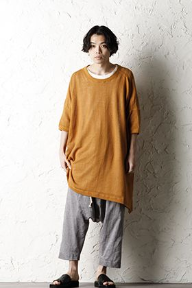 O project 20SS summery Mesh Tshirt Style