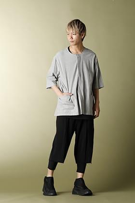The Viridi-anne Salt shrinkage Short sleeve shirt Early Summer Styling!!