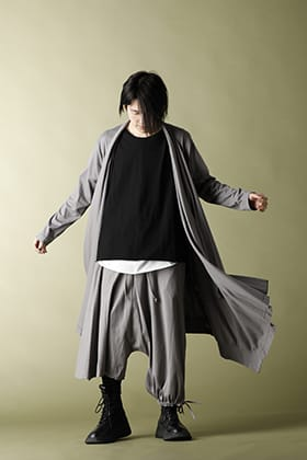.LOGY Kyoto Ground Y 20SS  Drape Cardigan Set up STYLE!!