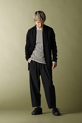 .LOGY Kyoto ATTACHMENT 20SS stall cardigan Casual STYLE!!