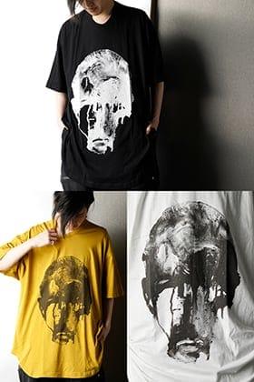 NILøS 2020SS Jesse Draxler Print Round T Shirt ver.1
