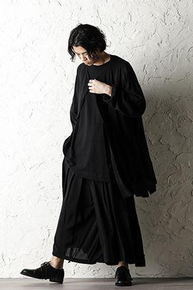 Yohji Yamamoto 20SS All black style for early summer.