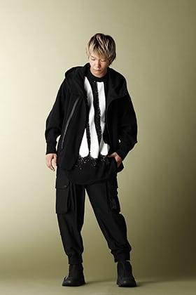 .LOGY Kyoto NILøS 20SS Zip hoodie BLACK STYLE!!