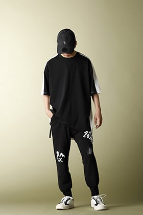 .LOGY Kyoto Y-3 20SS SWM COLOUR BLOCK SS TEE Summer STYLE!!