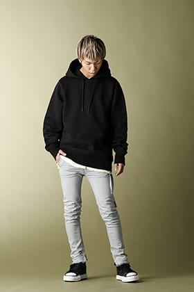 Y-3 CRFT GRAPHIC HOODIE MIX Street Style!!